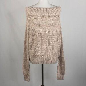 Kimchi Blue Off the Shoulder Sweater, Medium
